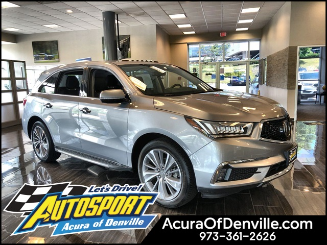 Certified Pre-Owned 2017 Acura MDX SH-AWD with Technology Package