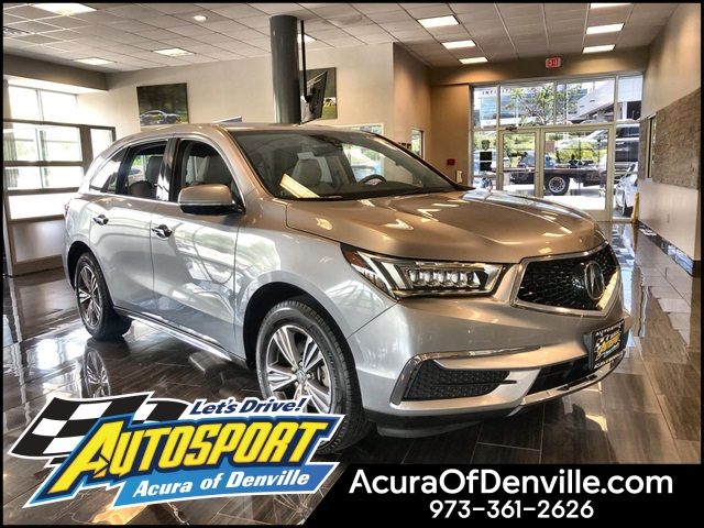 Certified Pre-Owned 2017 Acura MDX SH-AWD
